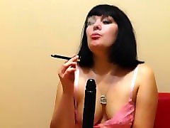 Dildo, Smoking handjob blowjob