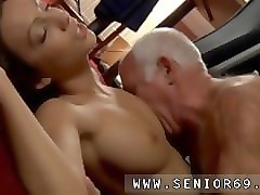 Teen, Old Man, Teen tricked by old man creampie