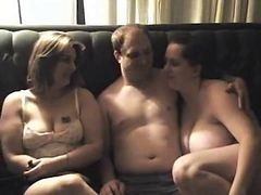 Amateur, Bbw, Threesome, Dildo ride bbw amateur