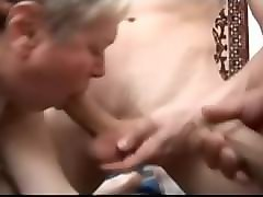 Group, Russian, Lesbian granny group sex