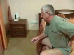 French, Old Man, Old man creampie