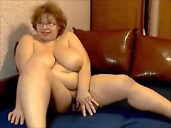 Russian, Mature russian red fat orgasm and firs