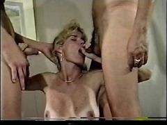 Mom, Son playing with moms dildos gay