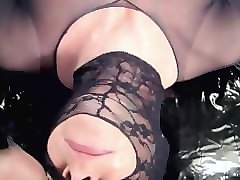 Black, Panties, Pantyhose, Cumshot, Amateur pantyhose masturbation