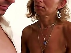 Hairy, Milf, Hairy milf strip and fuck