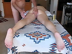 Wife, Massage, Ass, Amateur blonde wife massage by japanese man