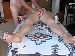 Wife, Massage, Ass, Amateur blonde wife massage your porn