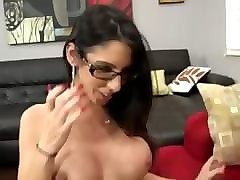 Black, Milf, Pegnant smoking stepmom