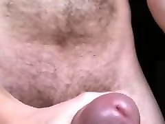 Masturbation, Jerking, Cumshot, Black cock jerking off while watching porn solo