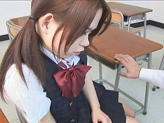 Asian, Japanese, Japanese schoolgirl molested
