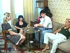 Game, Couple, Russian, Old And Young, Swinger couples