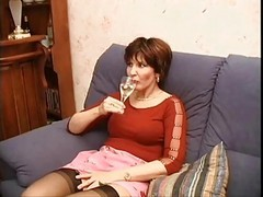 Stockings, Milf, Anal stockings