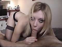 Blonde, British, Sexy blowjob