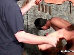 Bus, Black, French, Slave, French slave tit torture
