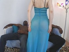Interracial, Milf, Threesome, Isis love interracial