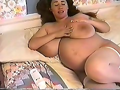 Nine month pregnant women fuck by old guys
