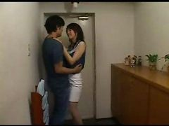 Asian, Housewife, Japanese, Wife, Cheating, Caught, Japanese housewife waiting