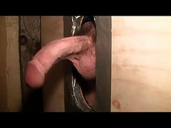 Deepthroat, Gloryhole, Mature at gloryhole