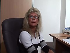 Amateur, Office, German, Secretary in doctor office hot anal fisting