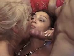 French, Orgy, Mature, Rich french mature mother