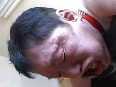 Asian, Japanese, Husband, Wife, Japanese husband watches wife fucked boos