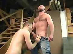 Daddie fucks son and cums in his ass