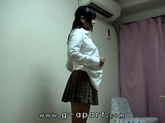 Shower, Japanese schoolgirl gangbang guy