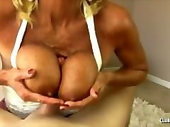 Blonde, Mature handjob massage hd