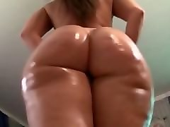 Babe, Oil, Ass, Fat, Big Ass, Huge fat ass