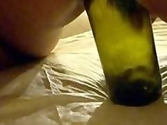 Anal, Bottle, Brutal anal bottle insertion