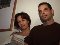 Arab, French, Horny arab babe in her garb is fucked