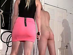 Slave, Brutal male slave training