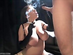 Compilation, Smoking, Russian sexy mom