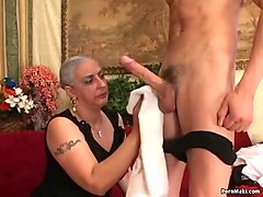 Anal, Anal mom and son with private teacher