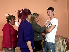 Mature mom get creampied by here son