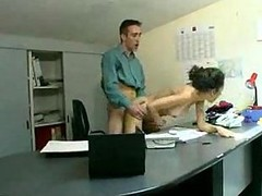 Arab, Office, Threesome stockings office