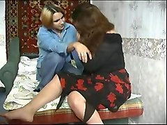 Fat, Mom and boy matures russian
