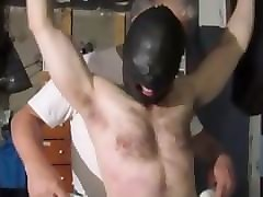 Slave, Hairy slave licking
