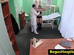 Bus, Doctor, Anal crempie gangbang