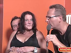 Amateur, German, Couple, Amateur mature brunette