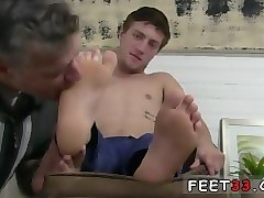 Teen, Socks, Slave old man licking feet mitress