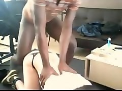 Black, Panties, Femboy fucked daddy amateur really