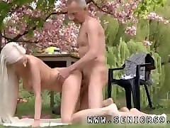 Anal, Blonde, Son blackmail mom into anal sex