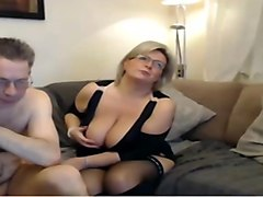 White mature mom brings daughter out as a
