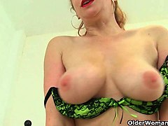 British, Milf, Strip, Red milf productions inc secret dream son