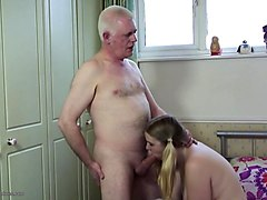 Japanese father fuck paralized sons wife