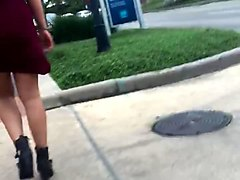 Tight, Black big booty woman dance in long tight skirt