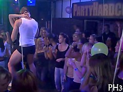 Czech, Club, Party, Strip, Bareback czech party