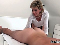 British, Aunt, Hairy british mature