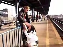 Lesbian, Public, Teen, Train, Russian girl flashing in public train